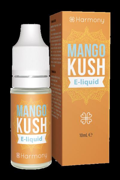 E-Lichid cu CBD - aroma Mango Kush - CBD Pur, Organic, 100% Natural - Fara Nicotina sau THC 0