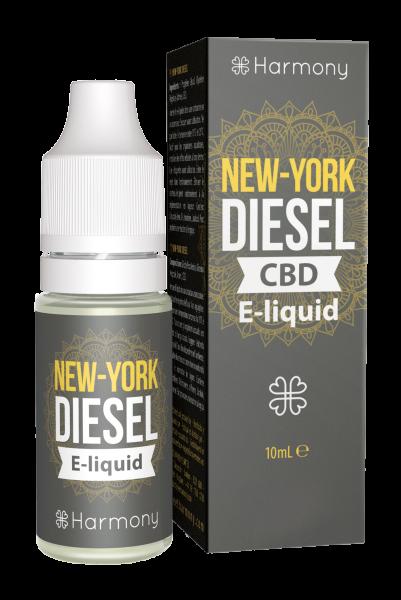 E-Lichid cu CBD - aroma NY Diesel - CBD Pur, Organic, 100% Natural - Fara Nicotina sau THC 0