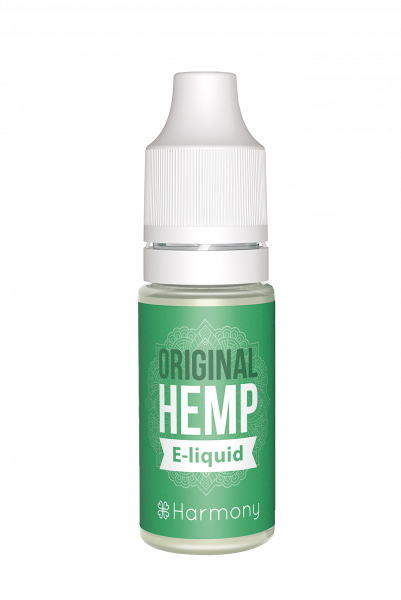 E-Lichid cu CBD - aroma Original Hemp - CBD Pur, Organic, 100% Natural - Fara Nicotina sau THC 1