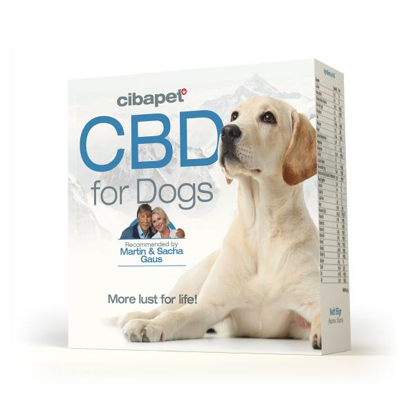 Tablete CBD special formulate pentru caini - CBD organic, 100% natural - testat si acreditat 1