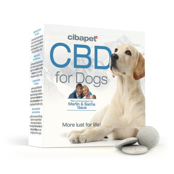 Tablete CBD special formulate pentru caini - CBD organic, 100% natural - testat si acreditat 0