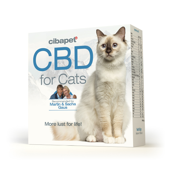 Tablete CBD special formulate pentru pisici - CBD organic, 100% natural - testat si acreditat 1