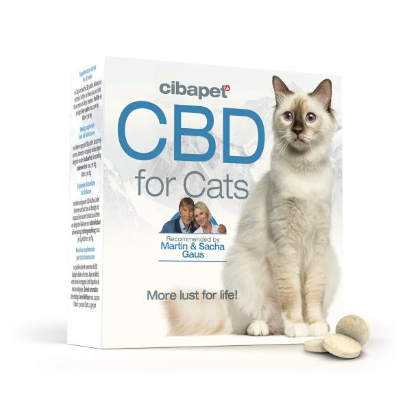 Tablete CBD special formulate pentru pisici - CBD organic, 100% natural - testat si acreditat 0