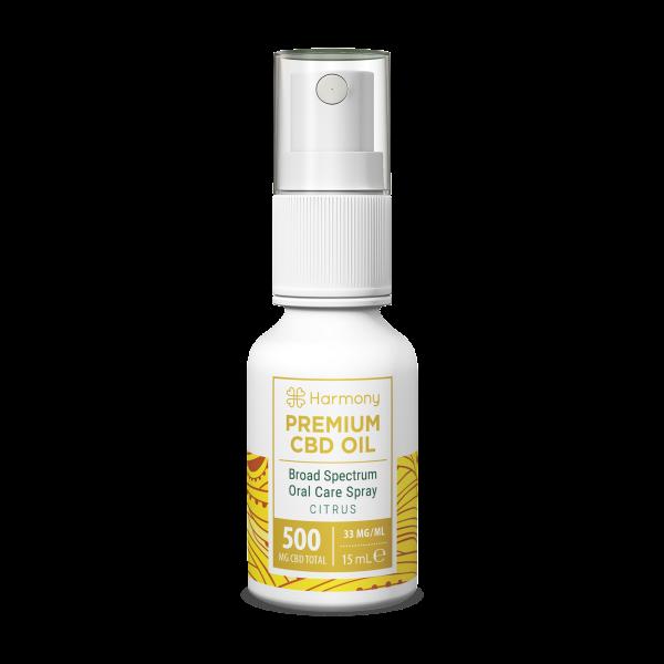 Spray Ulei CBD, diverse arome (Natural, Citrice si Menta) - Harmony 1