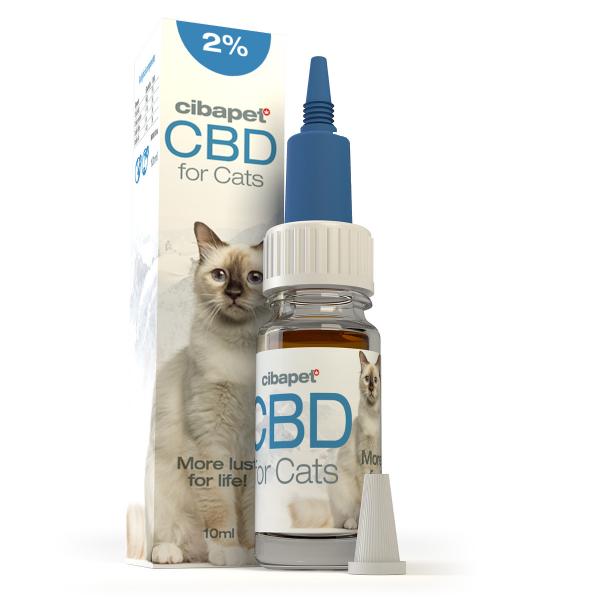 Ulei CBD 2% special formulat pentru pisici - CBD organic, 100% natural - testat si acreditat 0