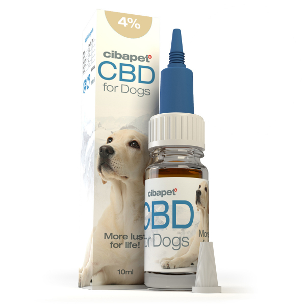 Ulei CBD 4% pentru Caini - Cibapet - CBD organic, 100% natural, testat 0