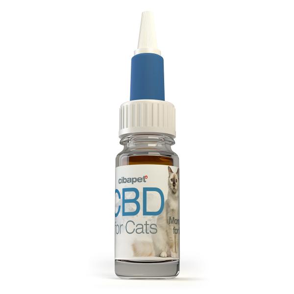 Ulei CBD 4% pentru pisici - CBD organic, 100% natural - testat si acreditat 2
