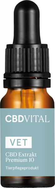 VET CBD 10 - Ulei canepa CBD, pt. Caini, CBD VITAL 0