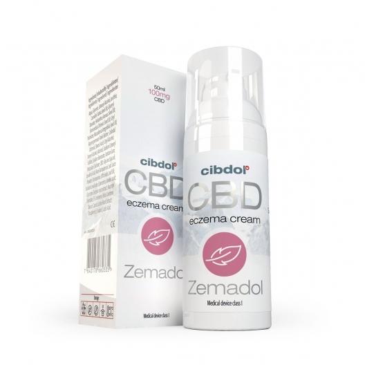 Zemadol - Crema lipozomala cu CBD, pentru Eczeme 0