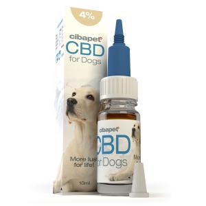 Ulei CBD 4% pt. Caini (400 mg)0