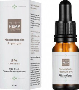 Ulei CBD 5% Naturextrakt Premium (500mg Canabidiol) - austroHEMP [1]