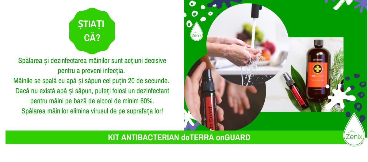 Kit antibacterian doTERRA onGUARD