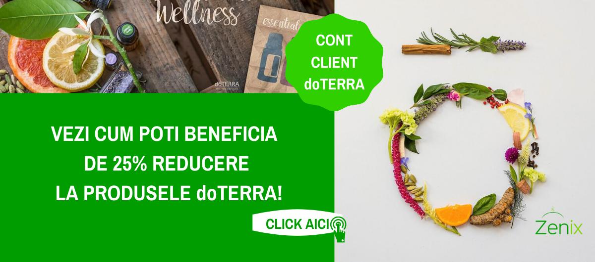 Cont client doTERRA