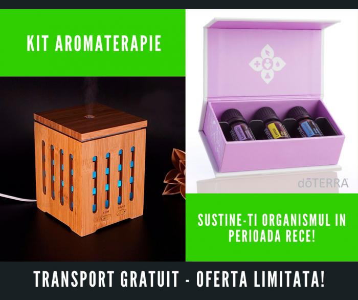 Kit aromaterapie: Sustine-ti imunitatea! - Dionis [0]