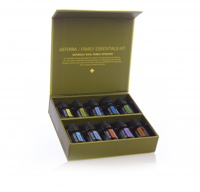 Set uleiuri esentiale doTERRA Family Essentials, 10x5ml 0
