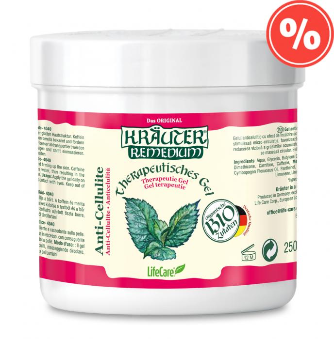Gel anticelulitic cu menta BIO Kräuter® [0]