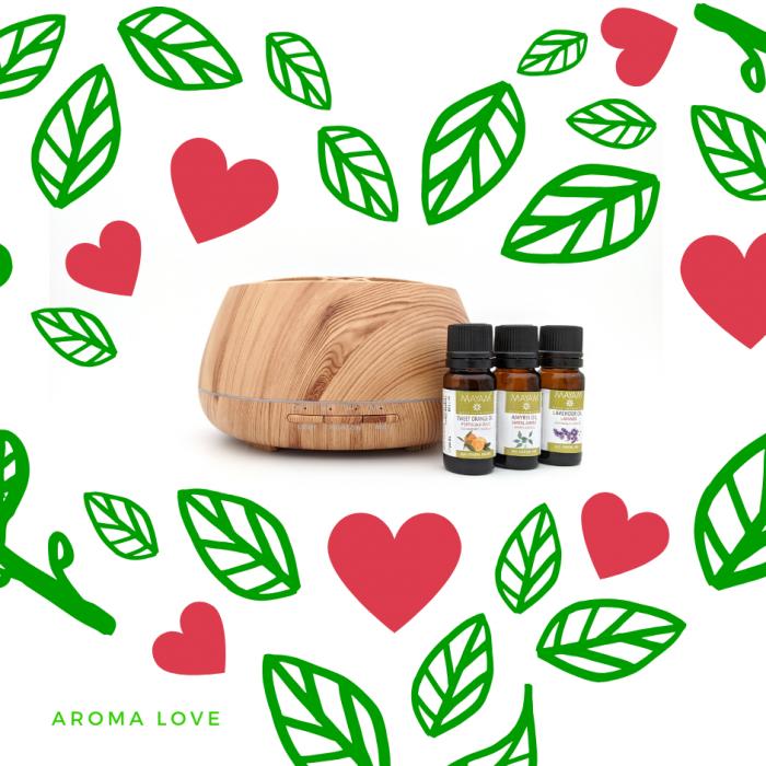 Kit aromaterapie: Aroma Love 0