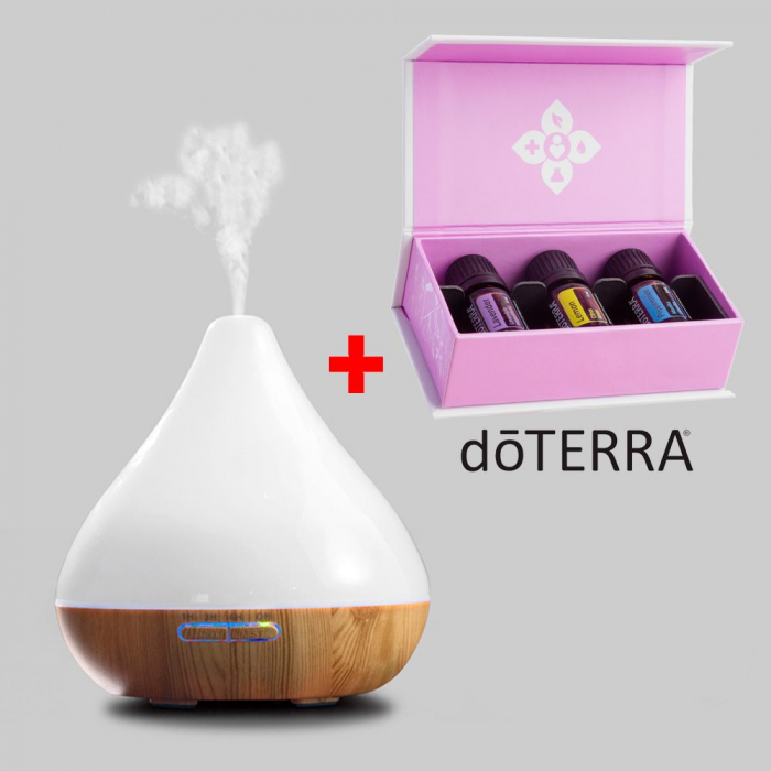 Kit aromaterapie: Zenix, GX-13K + Set doTERRA, 3x5ml, Lavanda, Lamaie, Menta 0