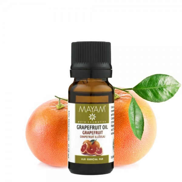 Ulei esential MAYAM Grapefruit, 10ml 0