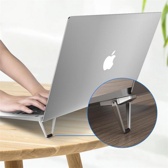 Suport Laptop, Zenix, SL-4, pliabil, aluminiu, pana la 17 inch 2