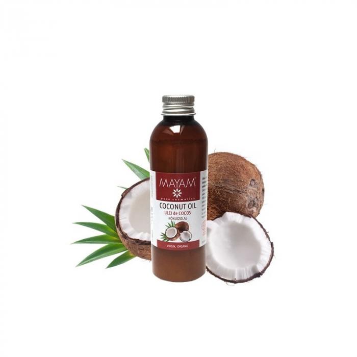 Ulei vegetal MAYAM Cocos BIO virgin, 100ml 0