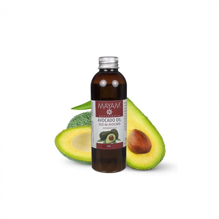 Ulei vegetal MAYAM Avocado crud, 100ml 0