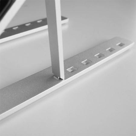 Suport Laptop, Zenix, SL-2, pliabil, aluminiu, argintiu, pana la 15 inch5