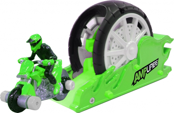 Amplifiers, motocicleta si lansator-Nick 0