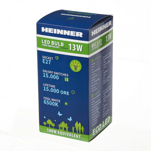 BEC LED HEINNER 13W HLB-13WE2765K2 1