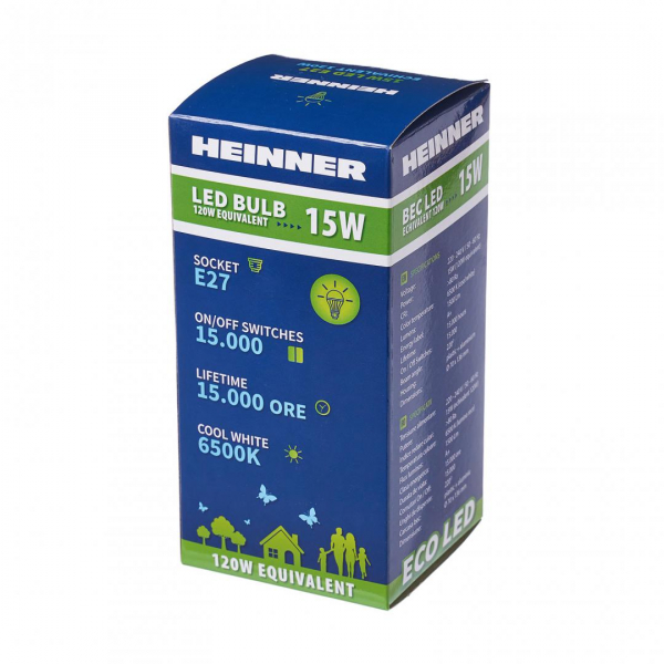 BEC LED HEINNER 15W HLB-15WE2765K 1