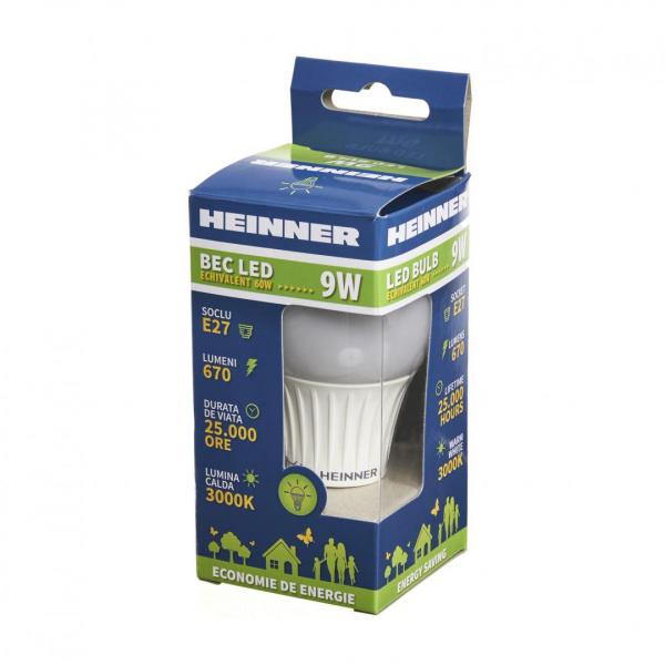 BEC LED HEINNER 9W HLB-9WE273K 1