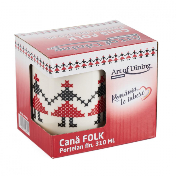 Cana traditionala, portelan fin, 310ML 6