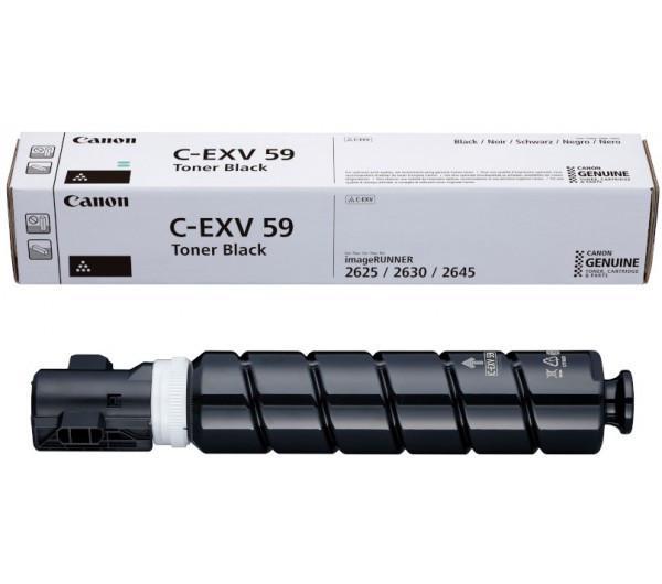 CANON CEXV59B BLACK TONER CARTRIDGE 0
