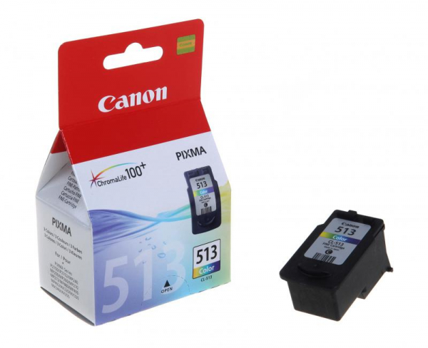 CANON CL-513 COLOR INKJET CARTRIDGE 0