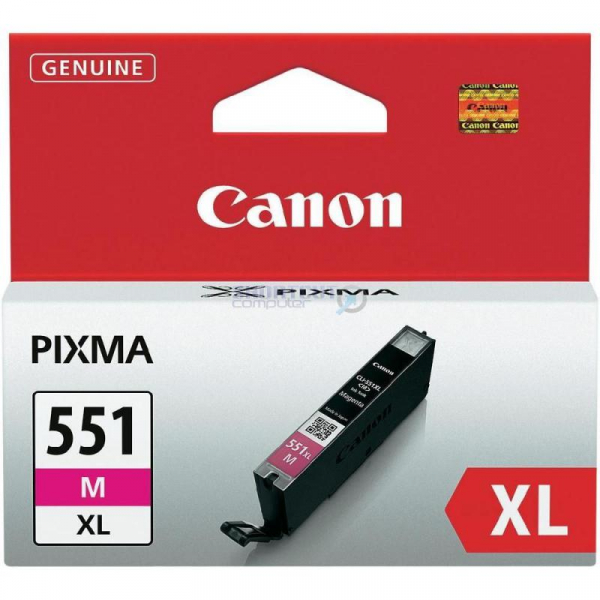 CANON CLI-551XL MAGENTA INKJET CARTRIDGE [0]