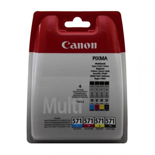 CANON CLI-571MULTI INKJET PACK CARTRIDGE [0]