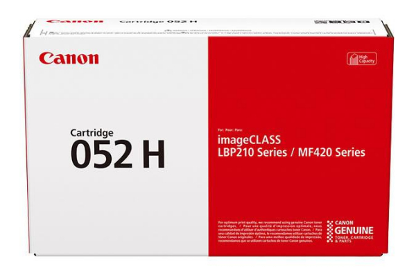 CANON CRG052H TONER CARTRIDGE  BLACK 0