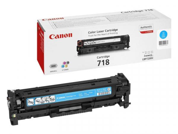 CANON CRG718C CYAN TONER CARTRIDGE 0