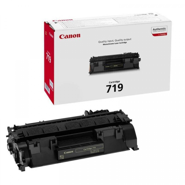 CANON CRG719 BLACK TONER CARTRIDGE 0