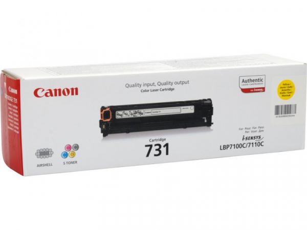 CANON CRG731Y YELLOW TONER CARTRIDGE [0]