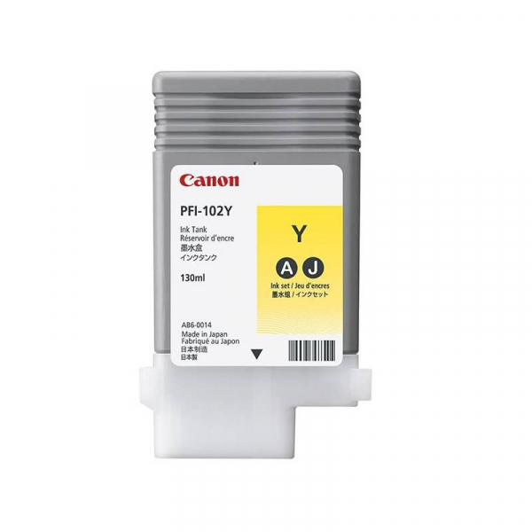 CANON PFI-102Y YELLOW INKJET CARTRIDGE 0
