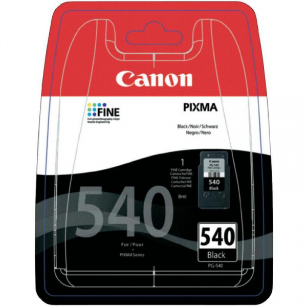 CANON PG-540 BLACK INKJET CARTRIDGE 0