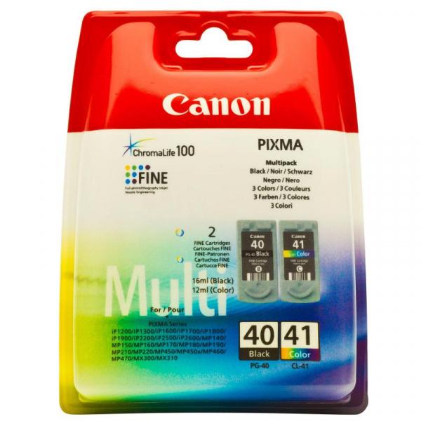 CANON PG40+CL41 INKJET PACK CARTRIDGES [0]