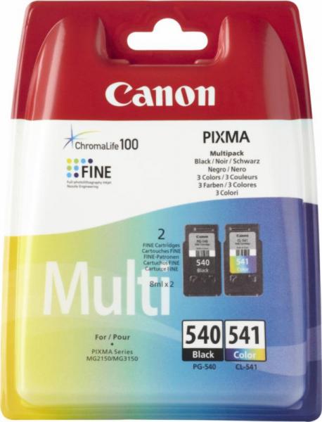 CANON PG540/CL541 INKJET PACK CARTRIDGES 0