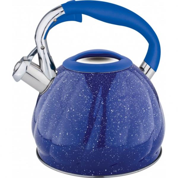 Ceainic Bohmann din inox, 3L, albastru marmorat 1