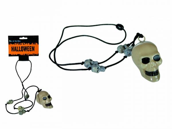 Colier cu craniu, plastic [0]