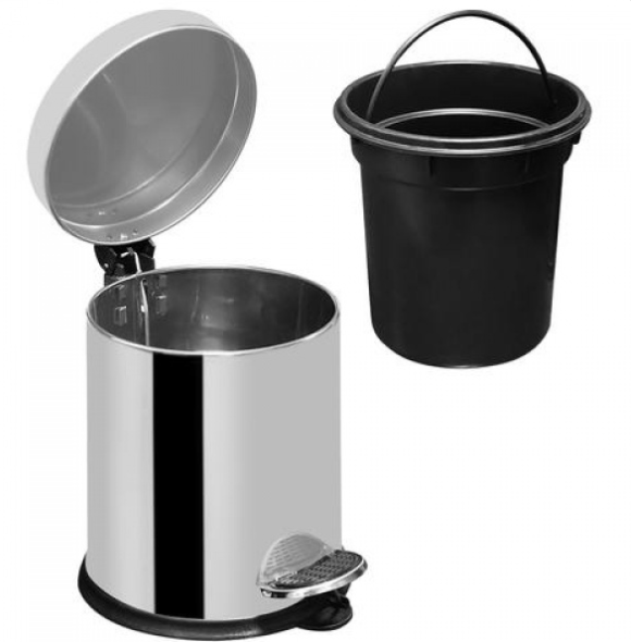 Cos menajer din inox ZILAN ZLN-6881, 5 litri 4