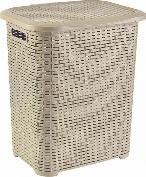 COS PL.TIP RATAN 45 L BEJ, 34,5x41x46 CM 0
