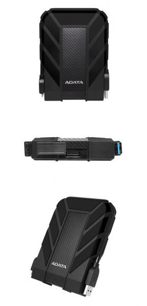 """EHDD 5TB ADATA 2.5"""" AHD710P-5TU31-CBK 0"""