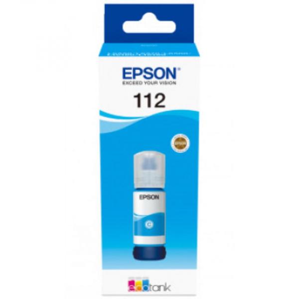EPSON 112 PIGMENT CYAN INK BOTTLE 0